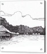 Gayana Island Resort Acrylic Print