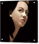 'gaze' Acrylic Print