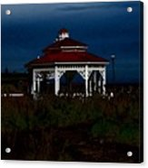Gazebo  22 Fletcher Lake Acrylic Print