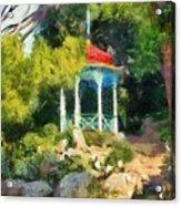 Gazebo In The Nikitsky Botanical Garden Acrylic Print