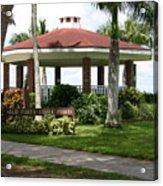 Gazebo Punta Gorda Fl Acrylic Print