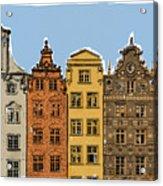 Gdansk Buildings Acrylic Print