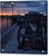 Gears At Daybreak  Acrylic Print