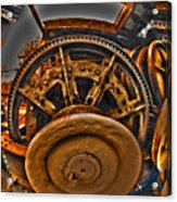 Gears Gone Mad Acrylic Print