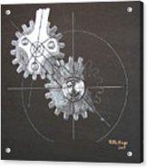 Gears No1 Acrylic Print