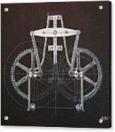 Gears No2 Acrylic Print