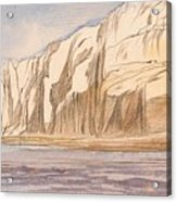 Gebel Abu Fodde By Edward Lear  1867 Acrylic Print
