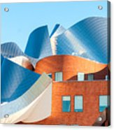 Gehry Architecture Acrylic Print