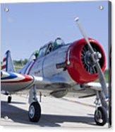 Geico Skytypers Snj-2 World War II-era Planes Acrylic Print