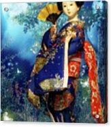 Geisha - Combining Innocence And Sophistication Acrylic Print