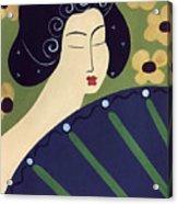 Geisha Doll Acrylic Print