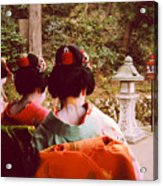 Geisha Necks Acrylic Print