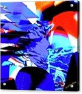 Blue Narcissus Acrylic Print