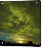 Gem Sunset Acrylic Print