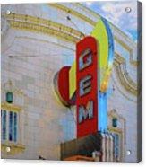 Gem Theater  Acrylic Print