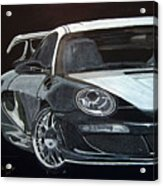 Gemballa Porsche Right Acrylic Print