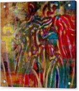 Gemini Abstract Acrylic Print