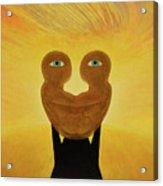 Gemini. Self-portrait Acrylic Print