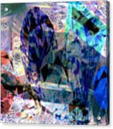 Gems Of Ice Acrylic Print