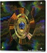 Gemstone For Christmas Acrylic Print by Spirit Dove  Durand