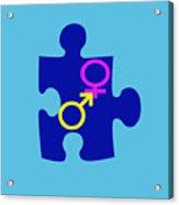 Gender Conundrum Acrylic Print