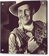 Gene Autry, Vintage Actor/singer Acrylic Print