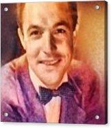 Gene Kelly, Vintage Hollywood Legend Acrylic Print