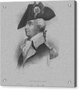General Anthony Wayne Acrylic Print