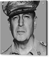 General Douglas Macarthur Acrylic Print by War Is Hell Store