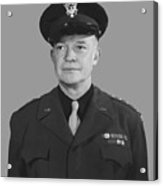 General Dwight D. Eisenhower Acrylic Print by War Is Hell Store