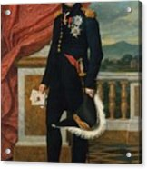 General Etienne  Maurice Gerard Jacques  Louis David  1816 Acrylic Print