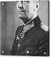 General Friedrich Wilhelm Ernst Paulus 1942 Acrylic Print