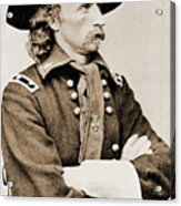 General George Custer Acrylic Print