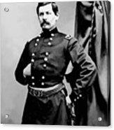 General George Mcclellan Acrylic Print by War Is Hell Store