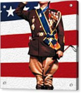 General George S. Patton Acrylic Print