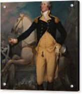 General George Washington At Trenton Acrylic Print