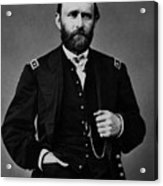 General Grant During The Civil War Acrylic Print