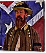 General Jeb Stuart Of Vmi Acrylic Print