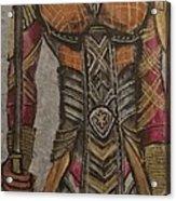 General Okoye Of The Wakandian Elite Forces   Acrylic Print
