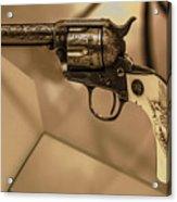 General Patton's Model 1873 Colt 45 Revolver  Acrylic Print