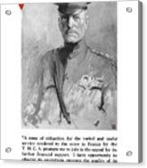 General Pershing - United War Works Campaign Acrylic Print