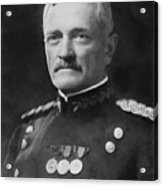 General Pershing Acrylic Print by War Is Hell Store