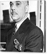General Rafael L. Trujillo. August 02, 1939. Acrylic Print