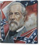 General Robert E Lee Acrylic Print by Linda Eades Blackburn