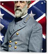 General Robert E. Lee Acrylic Print
