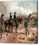 General Sherman Observing The Siege Of Atlanta Acrylic Print
