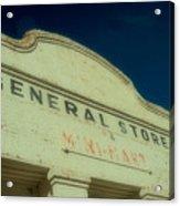 General Store Acrylic Print
