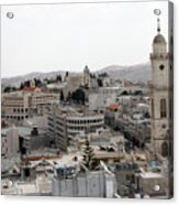 General View Of Bethlehem 2009 Acrylic Print