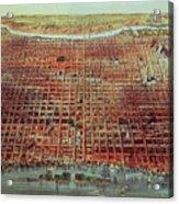 General View Of Philadelphia Acrylic Print
