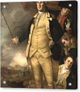 General Washington At The Battle Of Princeton Acrylic Print